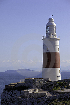 Lighthouse In Southern Europe Royalty Free Stock Image - Image: 18928586