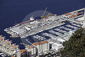 Marina Seen From Above Stock Photography - Image: 18928612