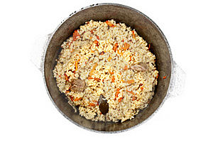 Pilaf In A Cauldron Stock Photography - Image: 18930182