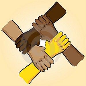 Symbolic Teamwork Stock Photo - Image: 18930680