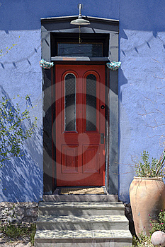 Colorful Adobe Architecture Stock Photos - Image: 18936263