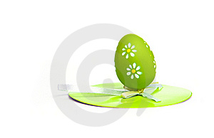 Painted Colorful Easter Egg Royalty Free Stock Photos - Image: 18937378