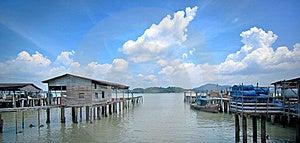 Fishing Village Royalty Free Stock Photography - Image: 18937697