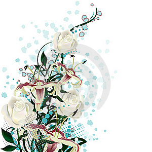 Bridal Bouquet Royalty Free Stock Images - Image: 18938289