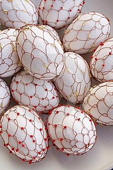 Decorated Eggas Royalty Free Stock Image - Image: 18939546