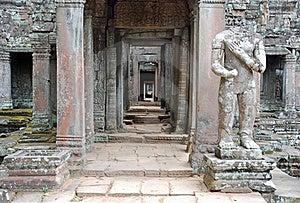 Angkor Temple Preah Khan, Cambodia Stock Images - Image: 18939804