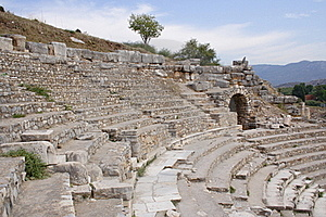 Ancient Theatre, Ephesus, Turkey Stock Photo - Image: 18940010