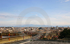 View Of Rome Stock Photos - Image: 18942363