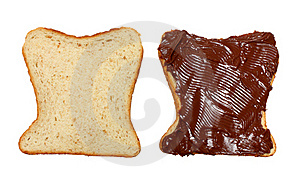Two Slices Of Bread Royalty Free Stock Image - Image: 18942786