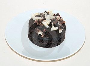 Chocolate Mud Cake Royalty Free Stock Photos - Image: 18943578