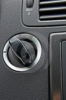 Car Push Button Starter Stock Photos - Image: 18951153