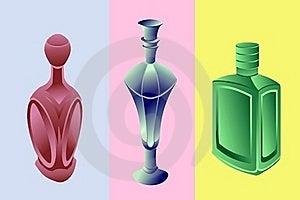 Perfume Bottles Stock Photography - Image: 18951492