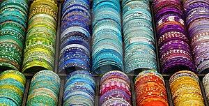 Colorful Bracelets Stock Photo - Image: 18958230