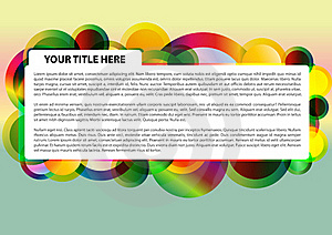 Colorful Circle Background Royalty Free Stock Image - Image: 18959206
