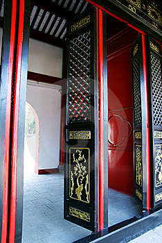 Chinese Gate Royalty Free Stock Photography - Image: 18959537