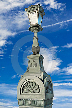 Isolated Lamppost Royalty Free Stock Photography - Image: 18960797