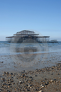 West Pier Stock Photography - Image: 18961462