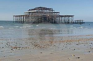 West Pier Stock Image - Image: 18961481