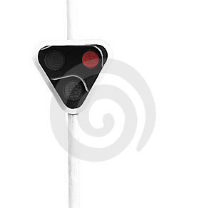Red Signal Light Royalty Free Stock Photo - Image: 18962265