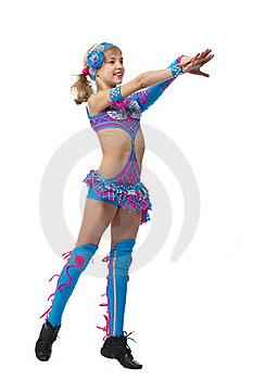 Young Girl Gymnast Stock Photo - Image: 18963050