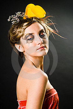 Creative Hair Style And Makeup Royalty Free Stock Images - Image: 18964789