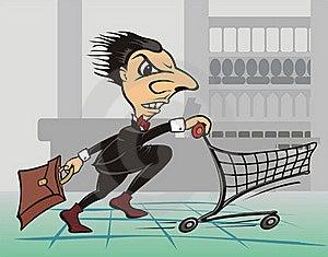 Shopping Centre - Quickly Shopper Stock Photos - Image: 18964843