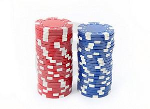 Casino Chips Stock Image - Image: 18966181