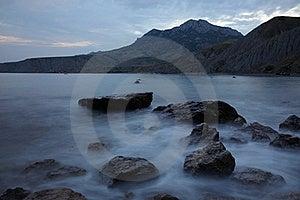 Evening Over Black Sea Royalty Free Stock Photos - Image: 18967028
