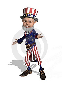Uncle Sam Welcomes You Royalty Free Stock Photos - Image: 18967178
