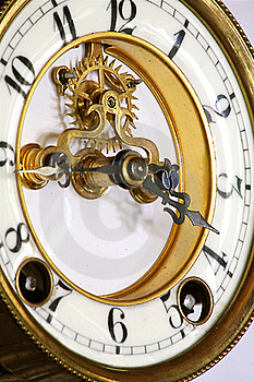 Clock Face Stock Photo - Image: 18969130