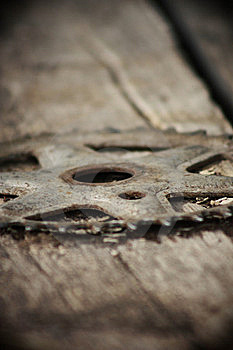 Bicycle Sprocket Royalty Free Stock Photo - Image: 18970315
