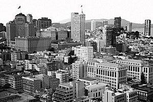 Downtown San Francisco Stock Image - Image: 18970931