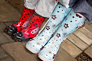 Pair Of Gumboots Stock Photo - Image: 18971990