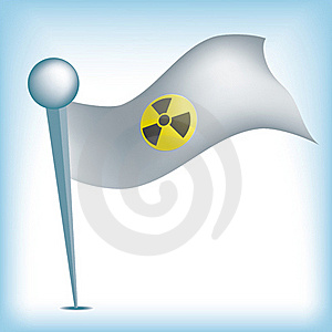 Nuclear Flag Royalty Free Stock Images - Image: 18972189