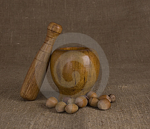 Mortar And Pestle Royalty Free Stock Image - Image: 18972596