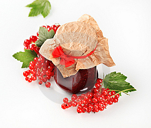 Red Currant Preserve Stock Image - Image: 18972771