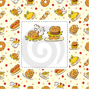 Fast Food Restaurant Card Stock Images - Image: 18976724