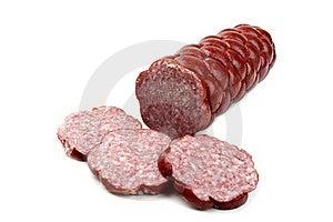 Delicious Salami Stock Image - Image: 18977221