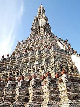 Pagoda In The Wat Arun (Temple Of The Dawn) Stock Photography - Image: 18981842