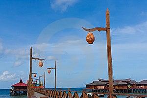Seule Lanterne Photo libre de droits - Image: 18982185
