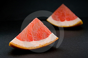 Slices Of Grapefruit Stock Images - Image: 18984654