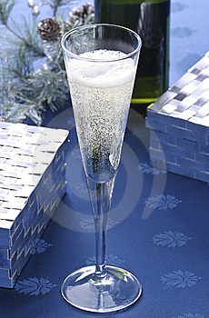 Champagne Toast Royalty Free Stock Image - Image: 18985326