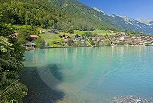 Oberried Shoreline, Switzerland Royalty Free Stock Photos - Image: 18985368
