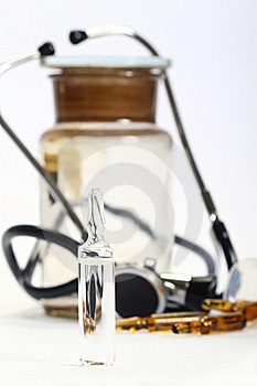 Ampoules Royalty Free Stock Photo - Image: 18985685