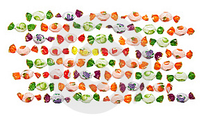 Assorted Colorful Candies Royalty Free Stock Photos - Image: 18985748
