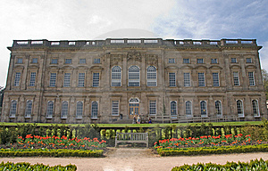Frontage Of An Eighteenth Century Stately Home Royalty Free Stock Photography - Image: 18985917