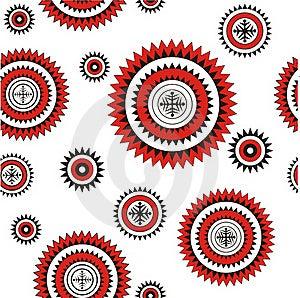 Seamless Pattern Northern Background Stock Photo - Image: 18987850