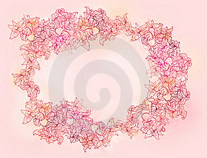 Stylish Floral Patterned Background Stock Photo - Image: 18987940