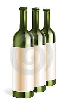 Wine Bottles Stock Photography - Image: 18990142