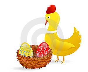 Easter Chick Stock Photos - Image: 18990183